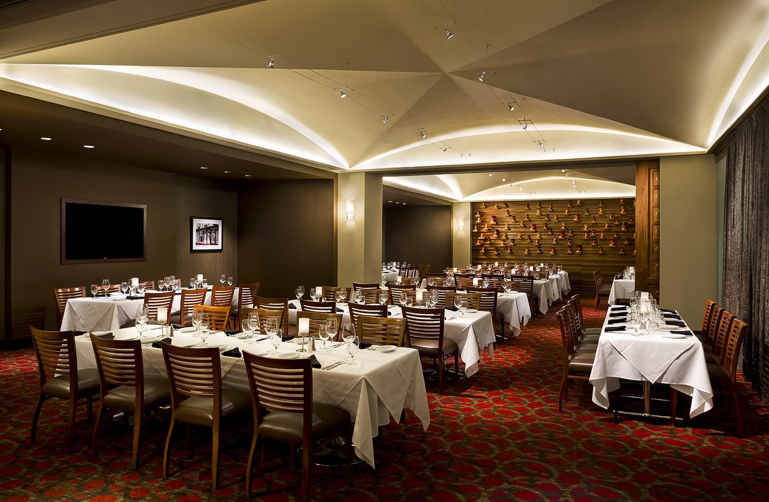 ruth chris fine dining experience of
