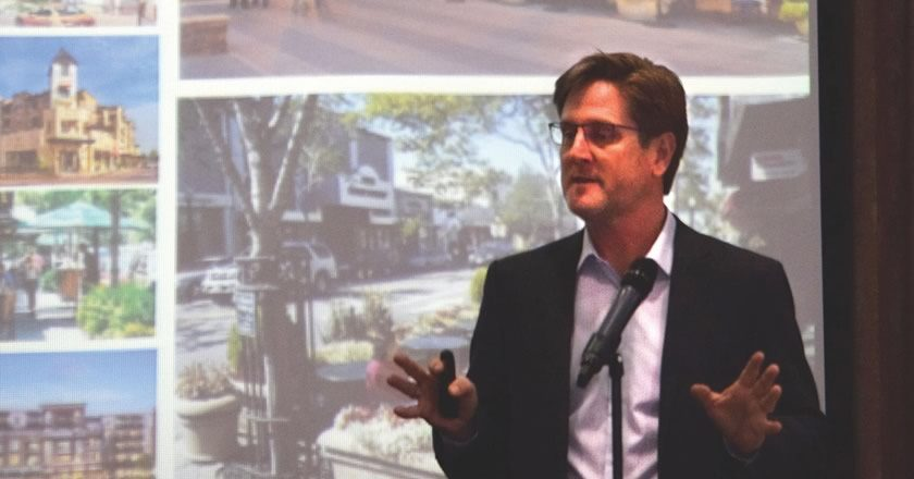 Firm Says Castell Avenue Plan Still on Drawing Board